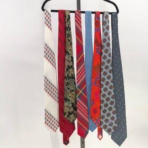 😍 Bundle lot of 8 mens ties neck ties